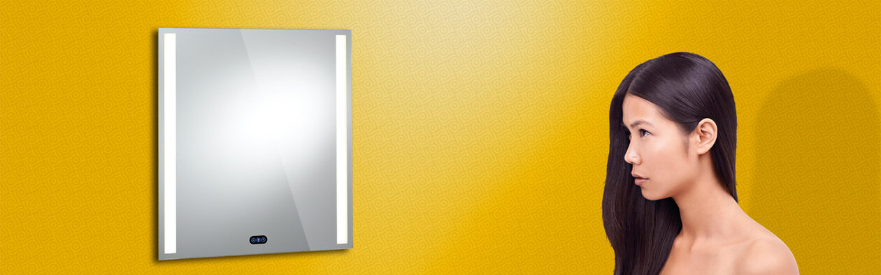 Lighted Mirror Pure. CR 70 S