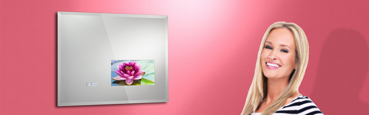 Mirror TV Reflexion. Design your own.